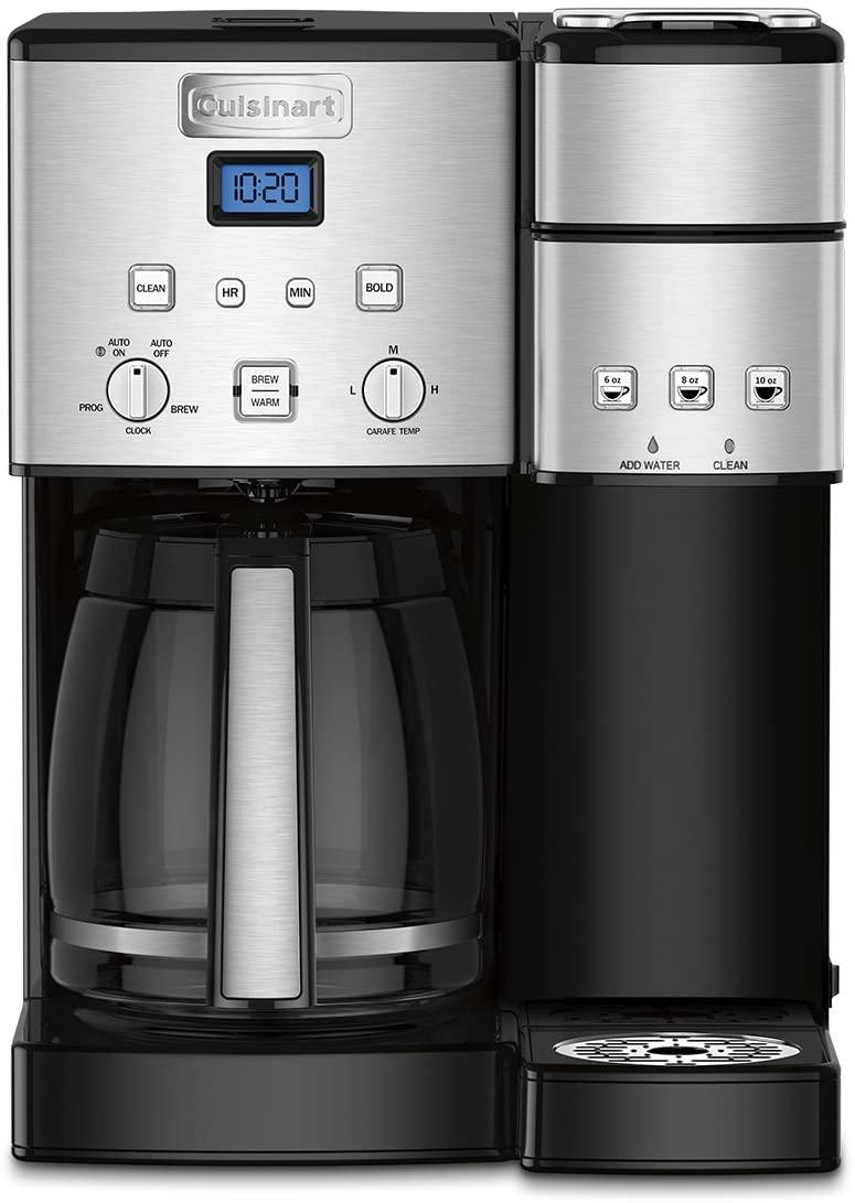 Cuisinart SS-15P1 BPA Free Coffee Maker + Single-Serve Brewer