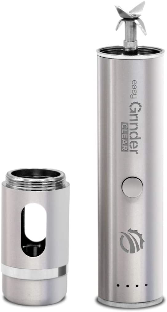 Easy Grinder Clear Battery-Powered Coffee Grinder