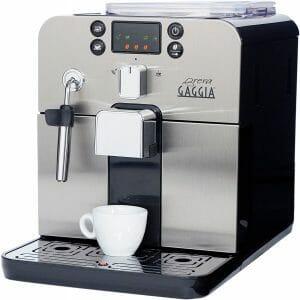 Gaggia Brera Super Automatic Espresso Maker with Grinder