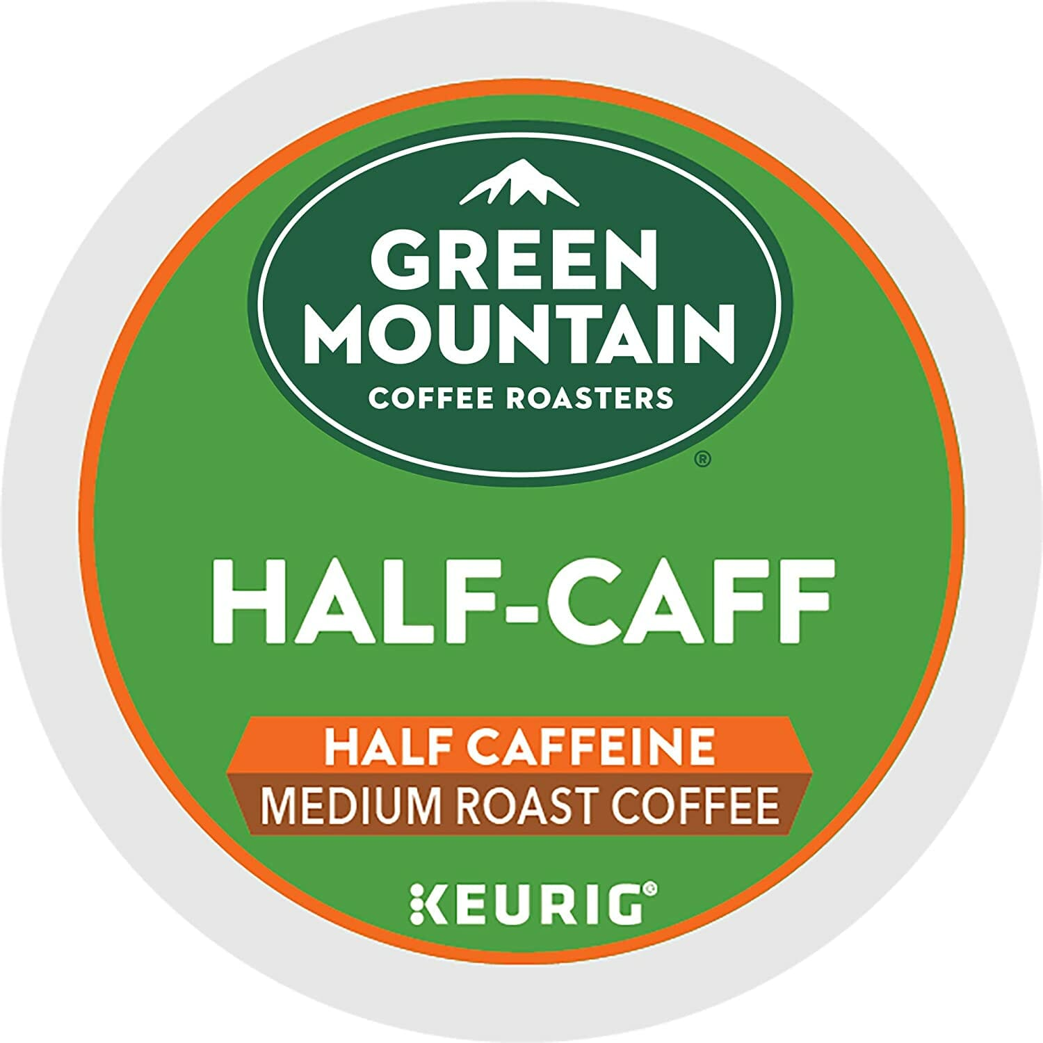 Green Mountain Coffee Roasters Half Caff K Cups
