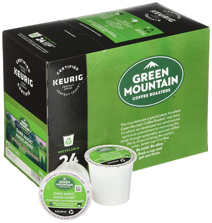 Green Mountain Dark Magic K Cups