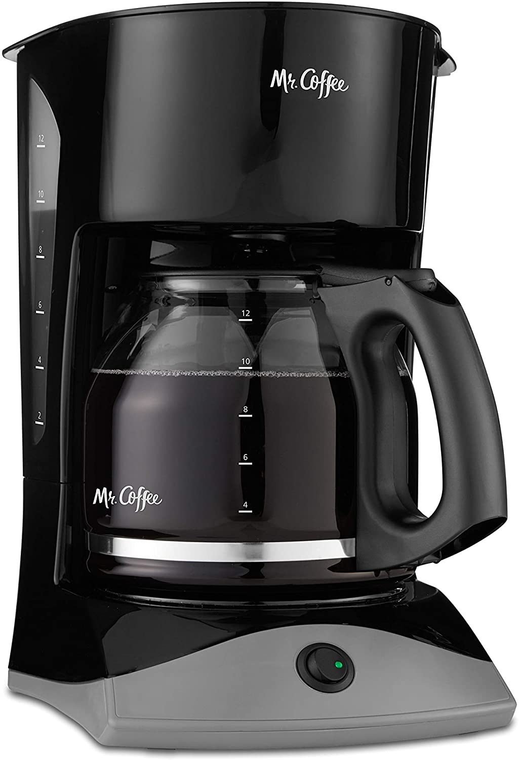 Mr Coffee 12-Cup Plastic Free Coffee Maker