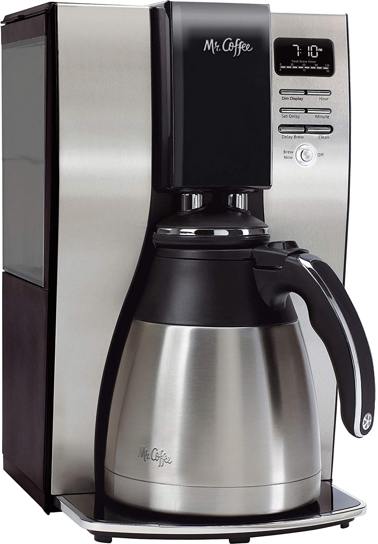 Mr. Coffee 10-Cup Plastic Free Coffee Maker