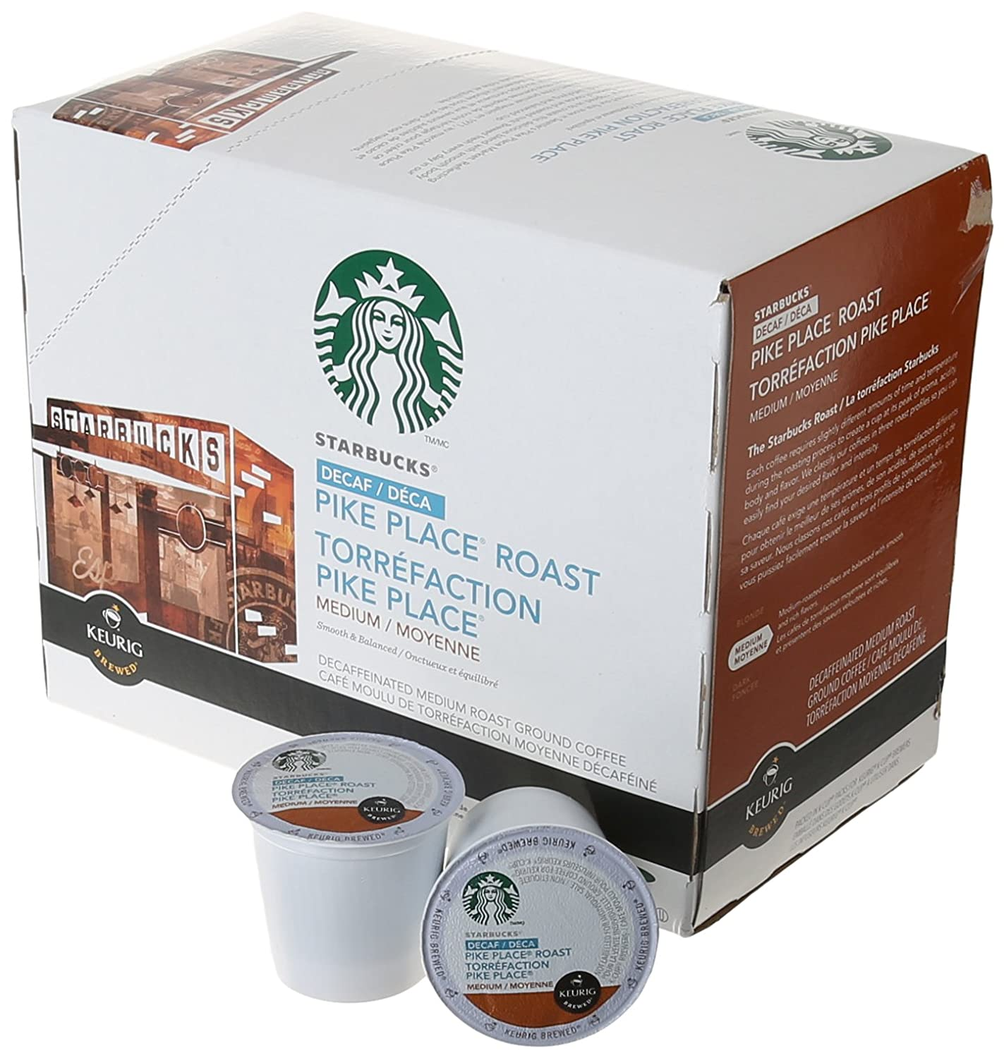 Starbucks Decaf Pike Place Roast K-Cups