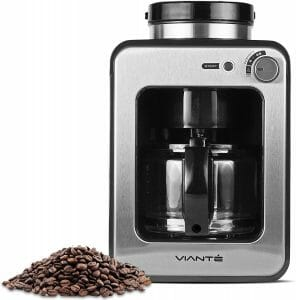 Viante Caf-50 4-Cup Mini Grind and Brew Coffee Maker