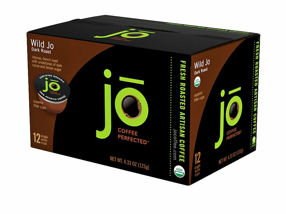 WILD JO Single-Serve K-Cup for Brewers (Eco Friendly)